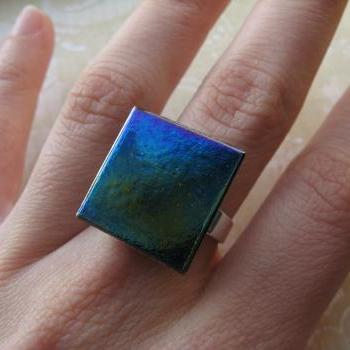 Square metallic ring